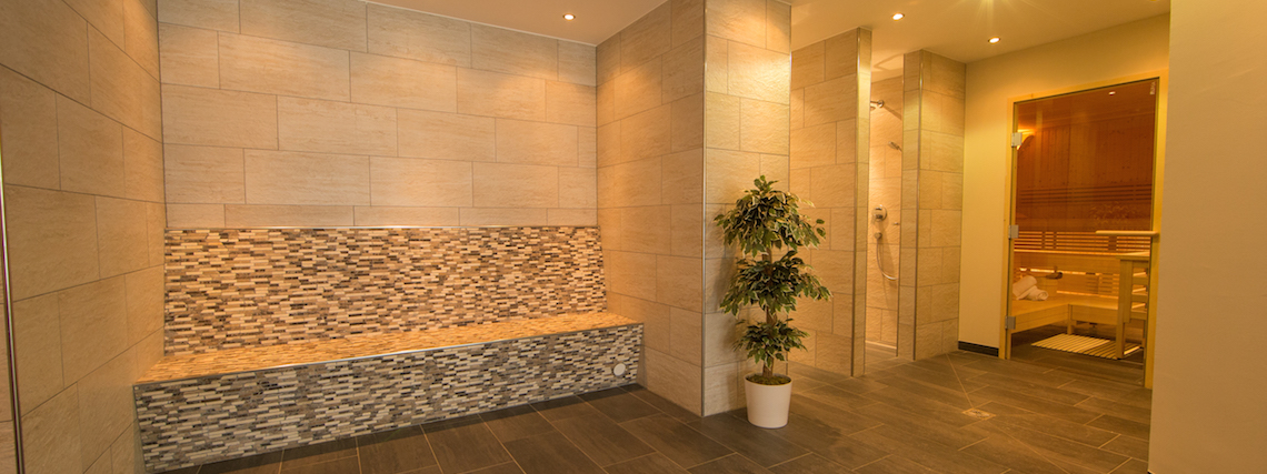 On-site sauna & steam room
